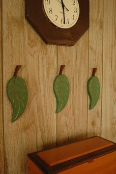 Wall Leaves by StaciGcreations on Etsy