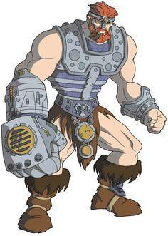 Fisto, from He-Man cartoon