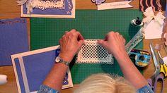 Craft Dies by Sue Wilson -- Tutorial Video -  Congratulations Blue Card ...