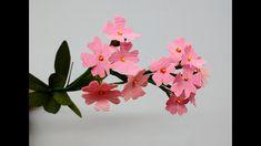 How to make Crepe Paper Flowers Birds eye Primrose /  Primula farinosa (...