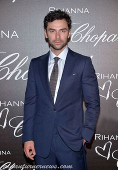 Aidan Turner Attends Chopard Dinner in Honor of Rihanna at Cannes – Aidan Turner News