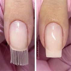 Fiber Glass nail tips…old school is now the new school . Nails nail tips Acrylic Nail Salon, Nail Extensions Acrylic, Acrylic Nail Tips, Acrylic Nail Shapes, Nail Gel, Clear Gel Nails, Fiberglass Nails, Cure Nails, Nagel Hacks