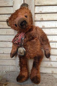 "15"" mohair bear....Brady Bears Studio...BradyBearsStudio.blogspot.com"