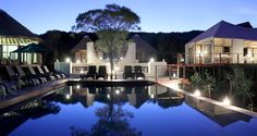 The perfect place to relax after a day on safari: the pool at Thanda Private Game Reserve, Hluhluwe, South Africa