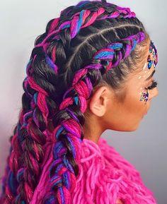 35 Hottest Chocolate Brown Hair Color Ideas of 2019 - Style My Hairs Curly Hair Styles, Natural Hair Styles, Crazy Hair Days, Mermaid Hair, Afro Hairstyles, Braid Styles, Ombre Hair, Dark Hair, Hair Trends