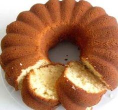yumusak çok lezzetli sade kek