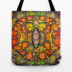 Indian Eyes, Reusable Tote Bags, Bright