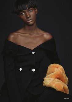 Herieth Paul In 'Creativity Takes Courage' By Walter Chin In Glass Magazine Fall 2014 - 3 Sensual Fashion Editorials | Art Exhibits - Anne of Carversville Women's News