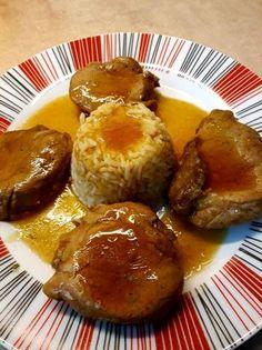 Ψαρονέφρι στην χύτρα με σάλτσα από maple syrup & μουστάρδα French Toast, Breakfast, Food, Morning Coffee, Essen, Meals, Yemek, Eten