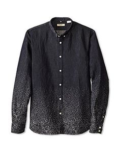 Levi's Made & Crafted Men's Button-Up Shirt (Galaxy Denim) Levi's follows the ombre trend for $275.00