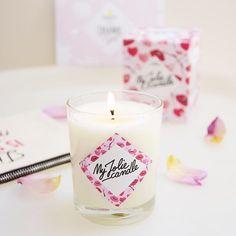 【victorine_tx】さんのInstagramをピンしています。 《• Petit colis reçu ce matin cette jolie bougie @myjoliecandle parfum cherry Blossoms, et le petit plus un petit bijoux en argent avec un élément Swarovski s'y cache ! Hâte de le découvrir je peux déjà vous dire que le parfum est à tomber • #Pligsummer #pligms #igptg #summerig_ #octoly #thanks #myjoliecandle #cherryblossoms #perfume #candle #sweet #sweetness #pretty #weekend #cocooning #cocoon #instalove #instagood #cute #room #home #déco #charm #lovely…