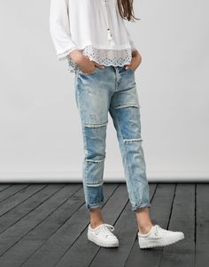 600 Bershka Ukraine - BSK relax jeans