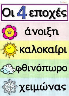 Greek Language, Speech And Language, Learn Greek, Daycare Crafts, Kindergarten Class, 1st Grade Math, School Organization, Preschool Activities, Homeschool