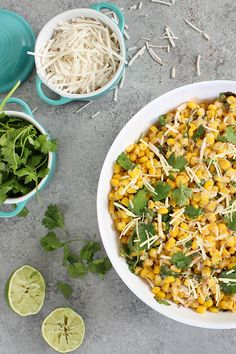 This dairy-free Street Corn Salad is a quick, simple take on an elote. It has a tasty balance of fresh flavors and textures that's sure to please everyone at your next get-together.