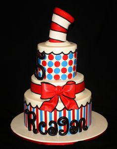 Dr.Seuss Cake by its-a-piece-of-cake, via Flickr