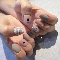 40 Cute Nail Design Ideas For Stylish Brides Cute Acrylic Nails, Cute Nails, Pretty Nails, Gel Nails, Nail Polish, Korean Nail Art, Korean Nails, Kawaii Nails, Happy Nails