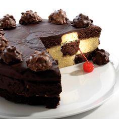 Gateau Damier Au Chocolat Et Vanille