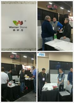 we are in SURFACE show at booth 336 #countertop #cabinet #prefab...
