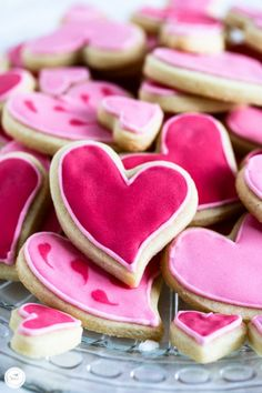 Herzchen Kekse zum Blogstart / recipe for heart shaped cookies