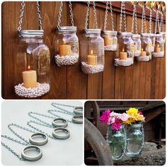 Mason jars are, actually, incredibly versatile as a crafting base. Outdoor lighting can be prohibitively expensive, but this Hanging Mason Jar Lantern idea from Etsy is great and doesn't cost you a fortune. They give your space a sweet, homey, quirky atmosphere for backyard at any occasion, and they should …