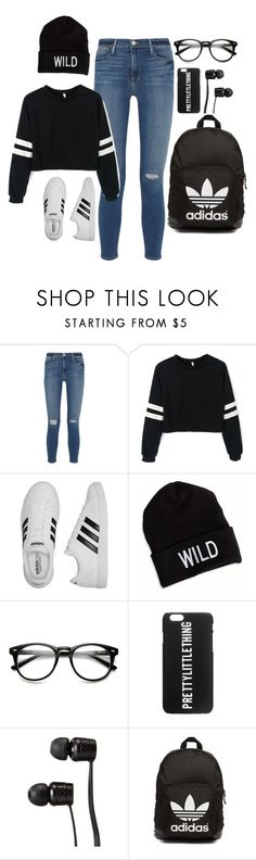 """pretty little wild thing"" by pretty-greatness on Polyvore featuring Frame Denim, adidas, American Eagle Outfitters, Vans and adidas Originals"