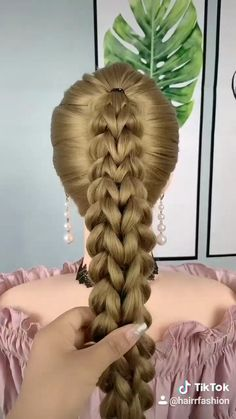 Lazy Girl Hairstyles, Formal Hairstyles For Long Hair, Hairdo For Long Hair, Curly Hair Tips, Softball Hairstyles, Cute Hairstyles For Kids, Toddler Hairstyles, Casual Hairstyles, Beautiful Hairstyles