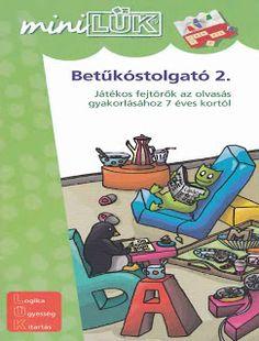 Marci fejlesztő és kreatív oldala: MiniLüK- Betűkóstolgató 2. Petra, Kids Toys, Comic Books, Writing, Comics, Reading, Mini, Childhood Toys, Children Toys