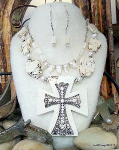 BOLD COWGIRL statement jewelry boho luxe necklace by BoldCowgirl, $118.00