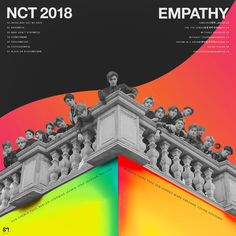 hmm hmm (neo got my back.) LOVE THE ALBUM! Hope you guys like it~ Please credit me if you are gonna use it NCT - The Album : NCT 2018 - Empathy Retro Aesthetic, Kpop Aesthetic, Graphic Design Posters, Graphic Design Inspiration, Nct Album, Kpop Posters, Album Design, Deviantart, Nct Dream