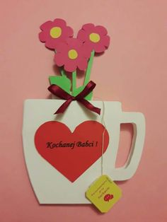 Flowery Cards - Mother's Day Crafts For Kids - Photos Mothers Day Crafts For Kids, Easter Crafts For Kids, Mothers Day Cards, Fun Crafts, Mother's Day Gift Baskets, Easter Art, Summer Activities For Kids, Mother's Day Diy, Kids Cards