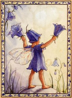 Bluebell fairy ~ by Margaret Tarrant :)