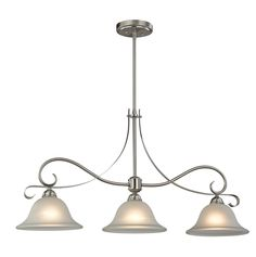 Brighton 3 Light Kitchen Island Pendant