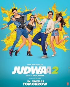 "Love comedy confusion & full entertainment this Dussehra! Presenting the brand new poster of ""Judwaa 2"". In cinemas tomorrow. .  Follow  @filmywave  . #VarunDhawan #JacquelineFernandez #TaapseePannu #DavidDjawan #Judwaa2 #Judwaa2KiDussehra #poster #movieposter #firstlook #movie #film #celebrity #bollywood #bollywoodmovie #actor #actress #star #glamour #glamorous #hot #sexy #love #beauty #instalike #instacomment #instafollow #filmywave"