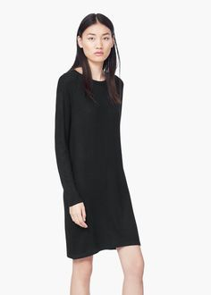Vestido malha - Vestidos de Mulher | MANGO