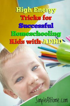 Does your child have ADHD? Here are some tricks to help your child learn.