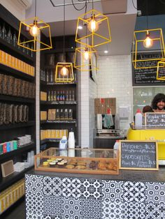Coffee is a religion in Australia and this cafe serves up great lattes and a walloping great splash of design inspiration.