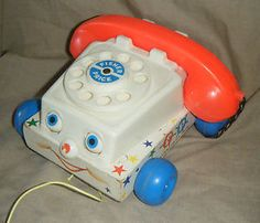 Vintage Fisher Price 747 Chatter Telephone TOY | eBay