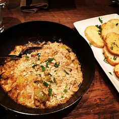 We devoured this delicious Blue Crab Gratin at @countyseatms recently. #EatMississippi #EatLivingstonMS #BlueCrab #appetizer