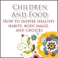 children and food - currently on sale till 10 June!