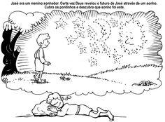 Jozef kleurplaat. // Apascentar os Pequeninos: José (atividades)