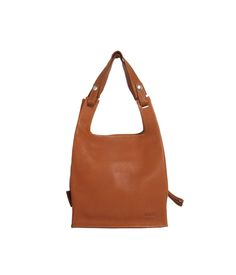 Eco Supermarket Bag Small Cognac