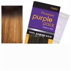 "Fri Apr 8, 2016 - #10: Premium Purple Pack Yaki 14"" - Color T1B/2730 - Human Weaving"