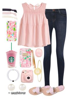 """""""pink power"""" by maggieiorns on Polyvore"""