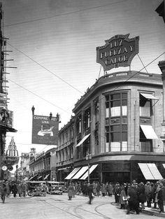 Calle Ahumada con Compañía 1929
