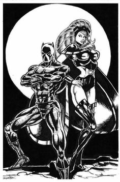 The Black Panther & Storm_004