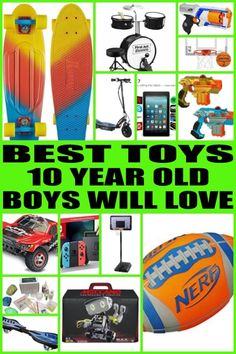 Find The Best Toy Gifts For 10 Year Old Boy Kids Would Love Any Of