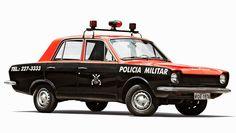 Classic São Paulo police cars from times gone by | Discovering São Paulo | 1976 Brazilian Cruiser