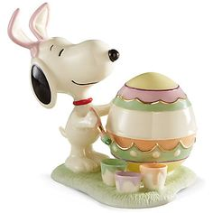 LENOX Figurines: New - Snoopy's Easter Egg For You Figurine