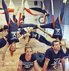 formacion profesores yoga aéreo