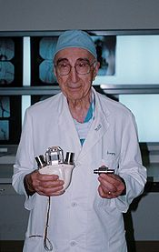 Dr, Michael E. DeBakey....Congressional Gold Medalist for developing the heart-lung machine at the age of 23.